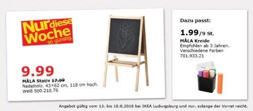 IKEA Ludwigsburg MALA Stativ - jetzt 44% billiger