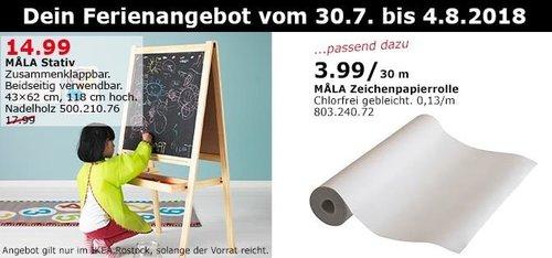 IKEA Rostock  MALA Stativ - jetzt 17% billiger
