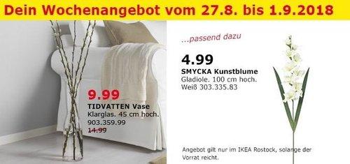 IKEA Rostock - TIDVATTEN Vase - jetzt 33% billiger