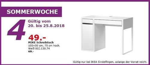 IKEA Sindelfingen - MIKE Schreitisch - jetzt 29% billiger