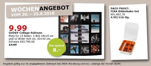 IKEA Würzburg - GUBY Collage-Rahmen - jetzt 44% billiger