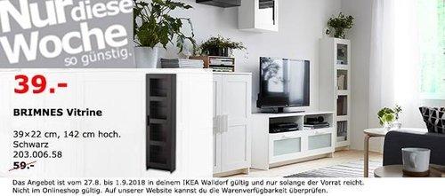 IKEA Walldorf - BRIMNES Vitrine - jetzt 34% billiger