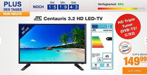 JTC Centauris 3.2HD 32 Zoll LED TV - jetzt 25% billiger