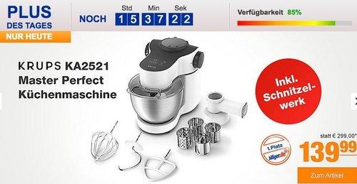 Krups KA2521 Master Perfect Küchenmaschine - jetzt 11% billiger