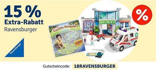 myToys 15 % Rabatt auf Artikel von Ravensburger: z.B. Ravensburger 3D Gebäude Puzzle Schloss Neuschwanstein 216 Teile - jetzt 14% billiger