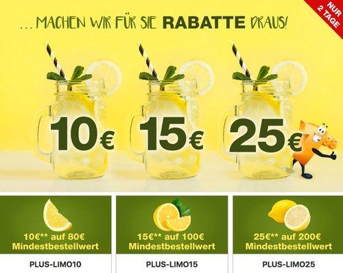 Plus.de - bis zu 25€ Rabatt auf fast alles: z.B. El Fuego Enola Smoker - jetzt 8% billiger
