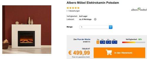 Albero Möbel Elektrokamin Potsdam - jetzt 21% billiger