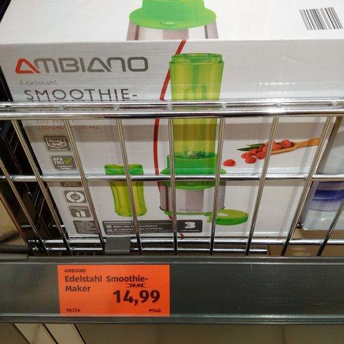 AMBIANO Edelstahl Smoothie-Maker - jetzt 25% billiger