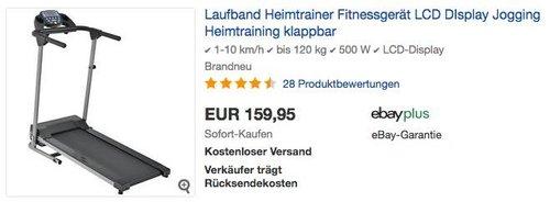 ArtSport Laufband Speedrunner 2000 - jetzt 11% billiger