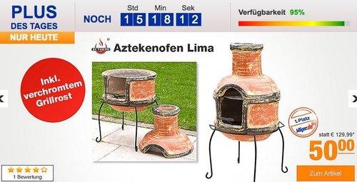 Aztekenofen Lima - jetzt 28% billiger