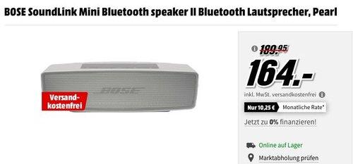 BOSE SoundLink Mini Bluetooth speaker II Bluetooth Lautsprecher - jetzt 14% billiger