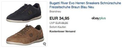 Bugatti River Evo Herren Sneakers - jetzt 22% billiger