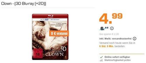 Clown - (3D Blu-ray (+2D)) - jetzt 29% billiger