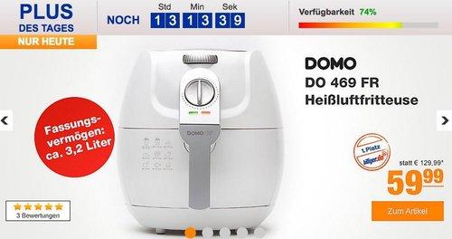 Domo DO 469 FR Heißluftfritteuse - jetzt 27% billiger