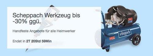 eBay Scheppach Werkzeug - Aktion: z.B. Scheppach Holzspalter HL650 6,5 t liegend inkl. Untergestell - jetzt 10% billiger