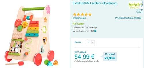 EverEarth® Lauflern-Spielzeug - jetzt 8% billiger