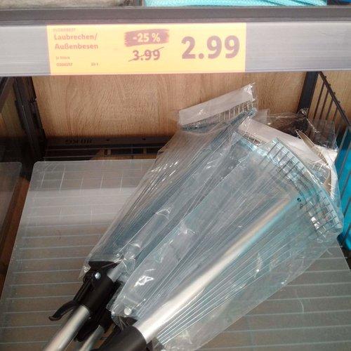 FLORABEST Laubrechen/Außenbesen - jetzt 25% billiger