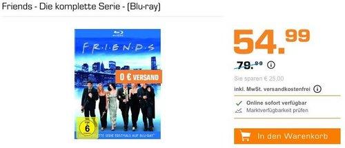 Friends - Die komplette Serie [Blu-ray] - jetzt 8% billiger