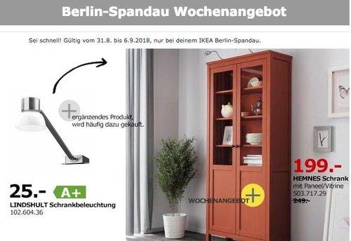 IKEA Berlin-Spandau -  HEMNES Schrank - jetzt 20% billiger