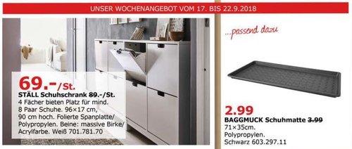 IKEA Düsseldorf - STÄLL Schuhschrank - jetzt 22% billiger