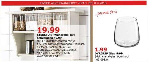IKEA Düsseldorf - STENSTORP Wandregal mit Schubladen - jetzt 60% billiger
