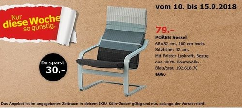 ikea k ln godorf po ng sessel f r 79 00 28. Black Bedroom Furniture Sets. Home Design Ideas