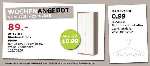 IKEA Kaarst - ASKVOLL Kleiderschrank - jetzt 11% billiger