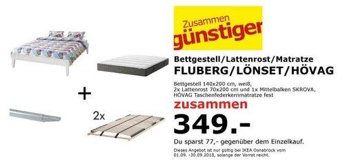 IKEA Osnabrück - BLUBERG Bestgestell Set - jetzt 18% billiger