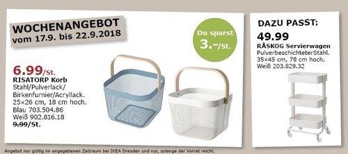IKEA Dresden - RISATORP Korb - jetzt 30% billiger