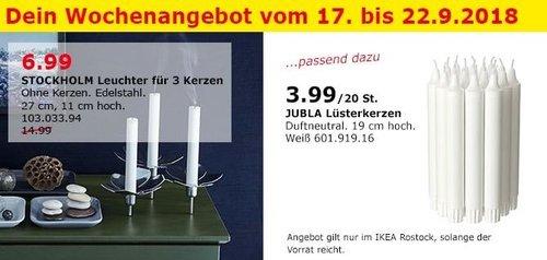 IKEA Rostock - STOCKHOLM Leuchter für 3 Kerzen - jetzt 53% billiger