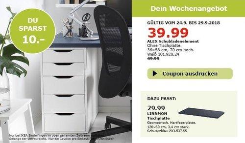 IKEA Sindelfingen - ALEX Schubladenelement - jetzt 20% billiger