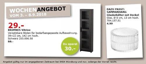 IKEA Würzburg - BRIMNES Vitrine - jetzt 51% billiger