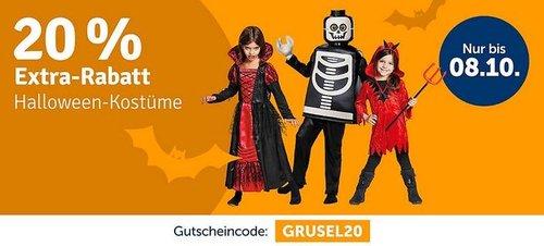 myToys 20 % Rabatt auf Halloween-Kostüme: z.B. Kostüm Hexe Elfrida, 2-tlg - jetzt 19% billiger