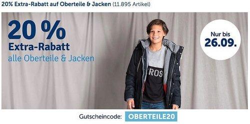 myToys 20 % Rabatt auf Oberteile oder Jacken: z.B. name it Winterjacke NITMICCO für Mädchen - jetzt 19% billiger