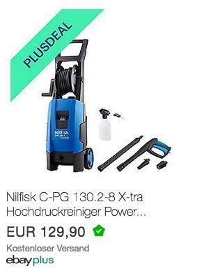 Nilfisk C-PG 130.2-8 Xtra Hochdruckreiniger PowerGrip - jetzt 10% billiger