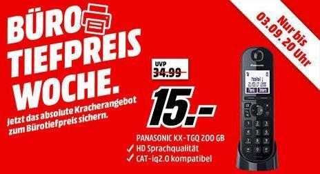 PANASONIC KX-TGQ200 Schnurloses Telefon - jetzt 50% billiger