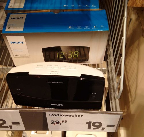 Philips AJ3400 Radiowecker - jetzt 37% billiger