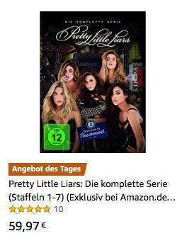 Pretty Little Liars: Die komplette Serie (Staffeln 1-7) [DVD] - jetzt 35% billiger