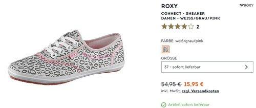 Roxy Connect - Damen Sneaker in Größe 37 - jetzt 33% billiger