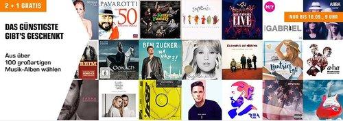 Saturn 3 für 2 Musik Aktion: 3 Titel kaufen und günstigsten Artikel kostenlos erhalten - jetzt 33% billiger