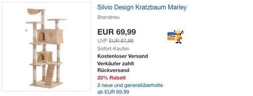 Silvio Design Kratzbaum Marley - jetzt 17% billiger