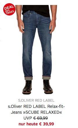 "s.Oliver RED LABEL Relax-fit-Jeans ""SCUBE RELAXED"" - jetzt 34% billiger"