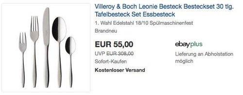 Villeroy & Boch Leonie 30tlg. Besteckset - jetzt 21% billiger