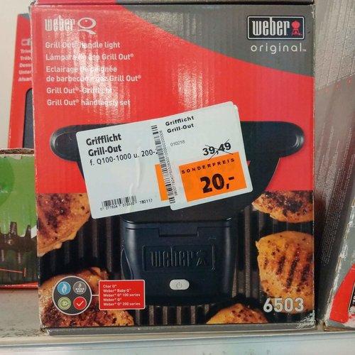 Weber 6503 Grilllicht Grill-Out - jetzt 49% billiger