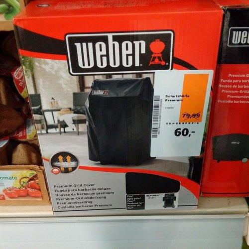 Weber Abdeckhaube Premium Spirit 210 - jetzt 25% billiger