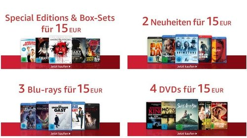 Amazon: Koch Media - 15€ Aktion, z.B. Peaky Blinders - Gangs of Birmingham - Staffel 1&2 [Blu-ray] - jetzt 39% billiger