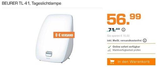 BEURER TL 41 Tageslichtlampe - jetzt 19% billiger