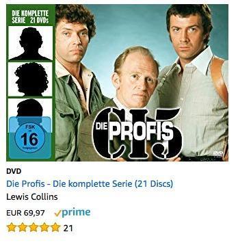 Die Profis - Die komplette Serie DVD (21 Discs) - jetzt 22% billiger