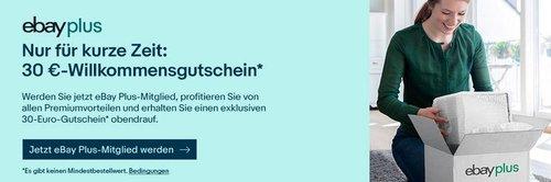 eBay Plus  - 30,00€ Willkommensgutschein für neue Plus-Mitglieder - Aktion: z.B. WD Elements 1,5 TB HDD Festplatte - jetzt 55% billiger