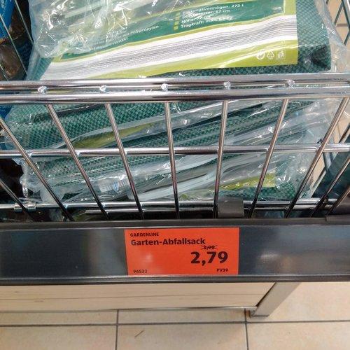 GARDELINE Garten- Abfallsack - jetzt 30% billiger